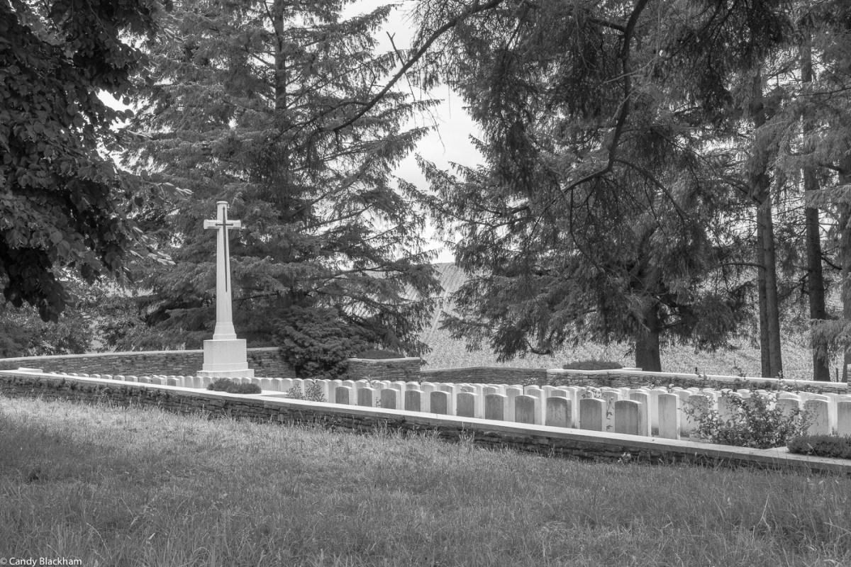 Y Ravine cemetery at Beaumont-Hamel
