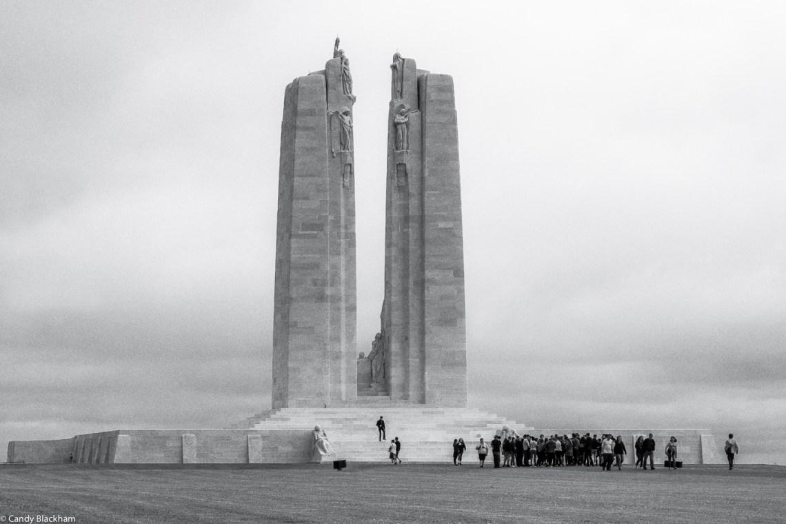 The Memorial on Vimy Ridge