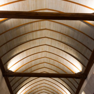 Inside Notre Dame, Lampaul-Guimiliau in Brittany