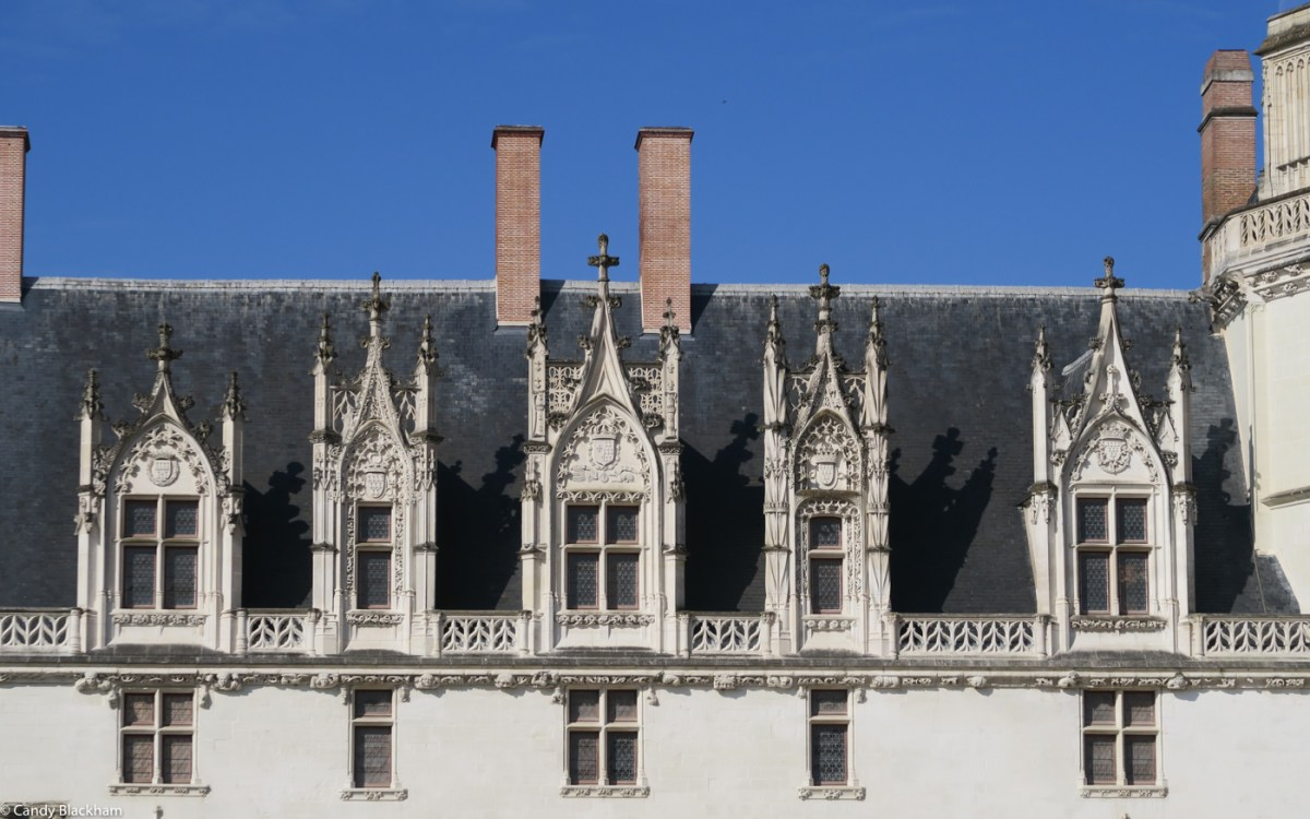 The original buildings in the Ducal Palace, Nantes