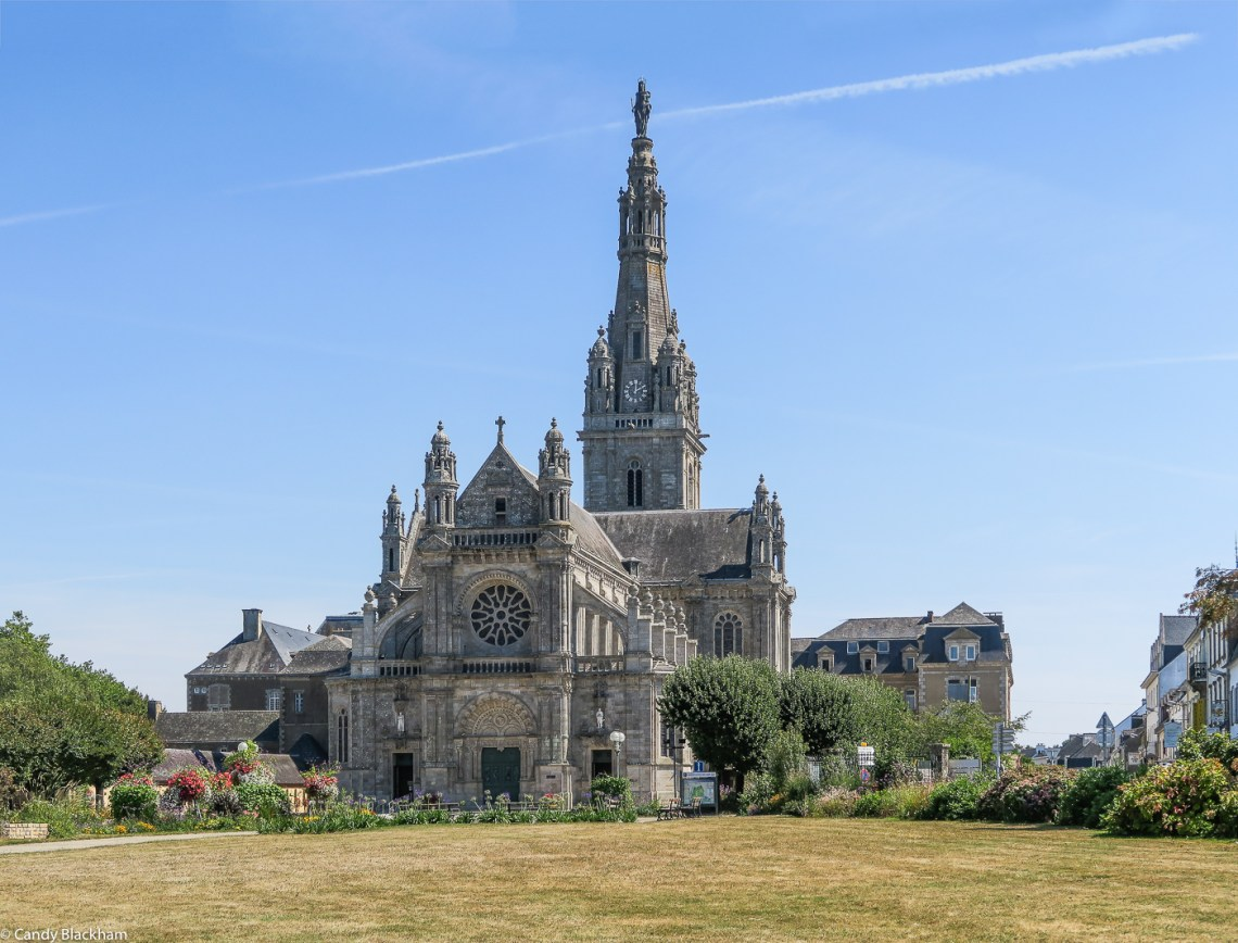 The Church of Ste Anne d'Auray