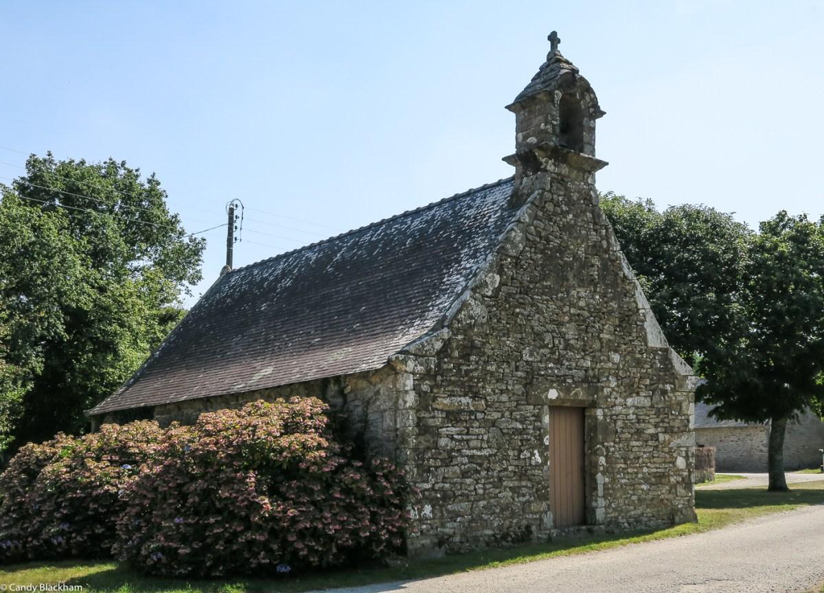 The Chapel of St Goal at Calan
