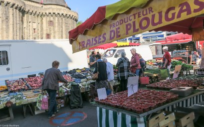 Market day in Hennebont