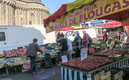 Market day in Hennebont