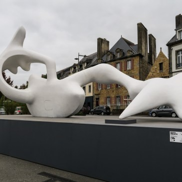 The Henry Moore Exhibition in Landerneau