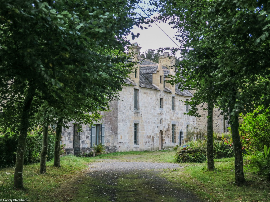 The old Manor of Kerezellec