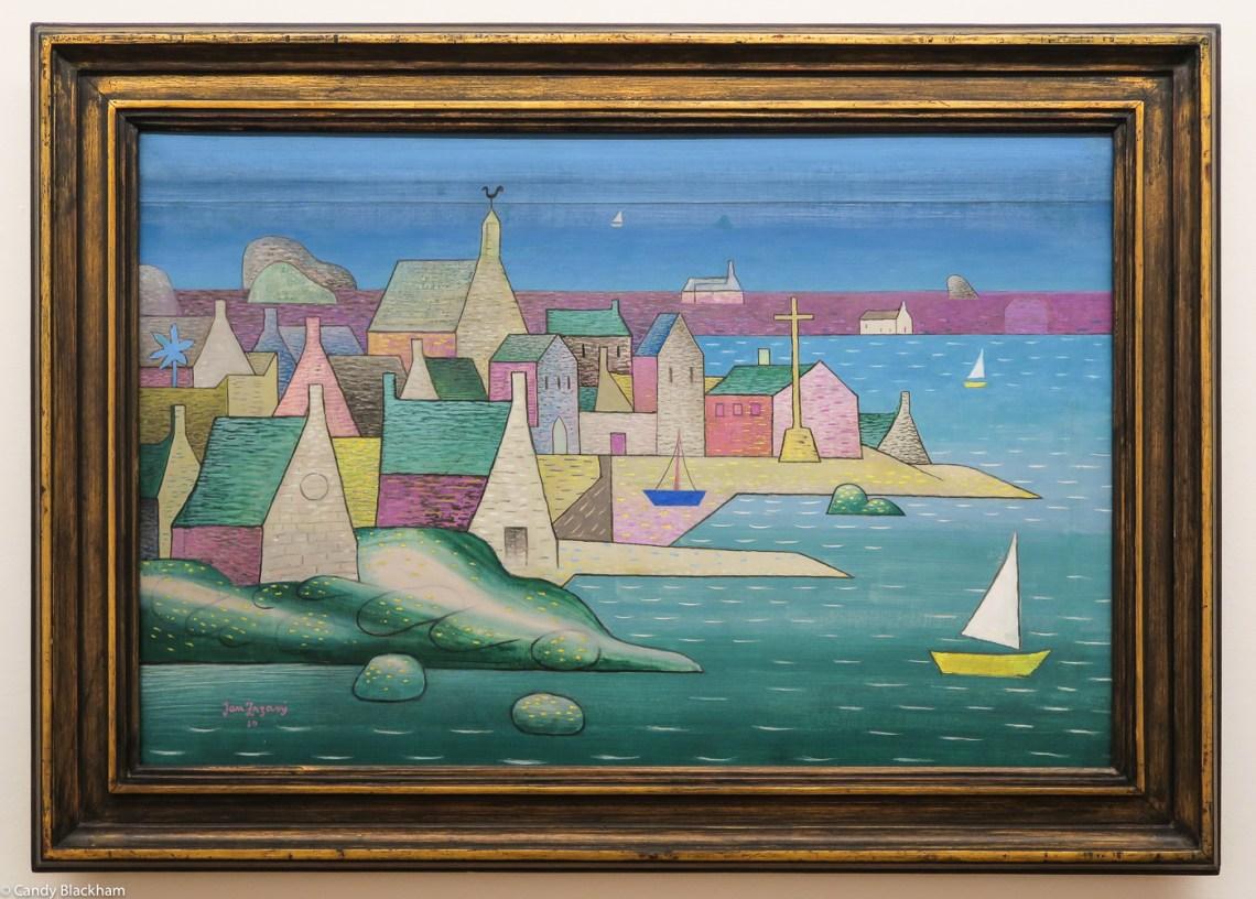 Jan Zrzavy: Ploumanac'h, 1930