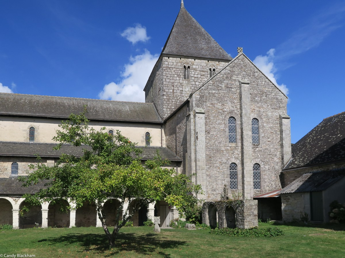 The Church of Locmaria, with the remains of the Cloister