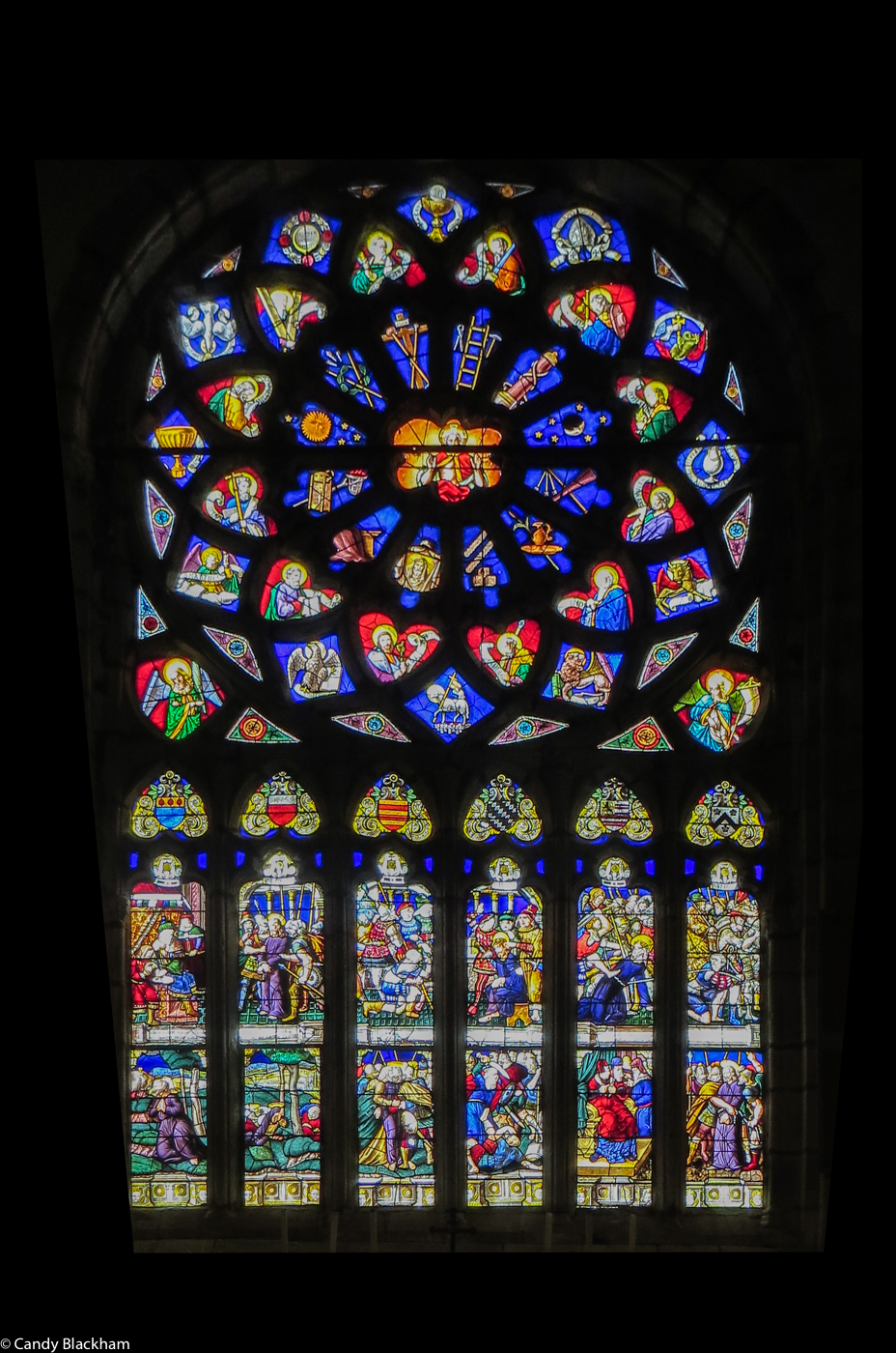 The stained glass of 1556 St Herbot