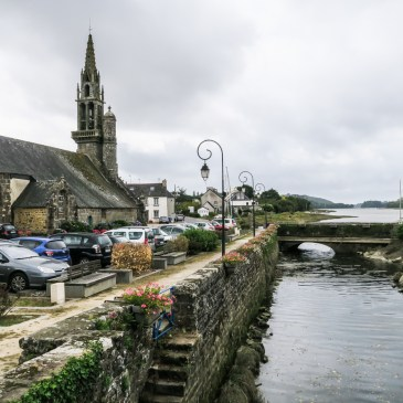 A walk around L'Hopital-Camfrout in Brittany