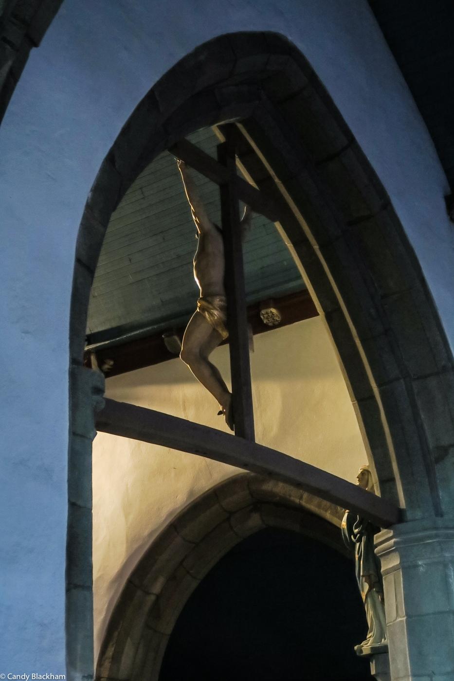 Inside the Church of Notre Dame de Bonne Nouvelle
