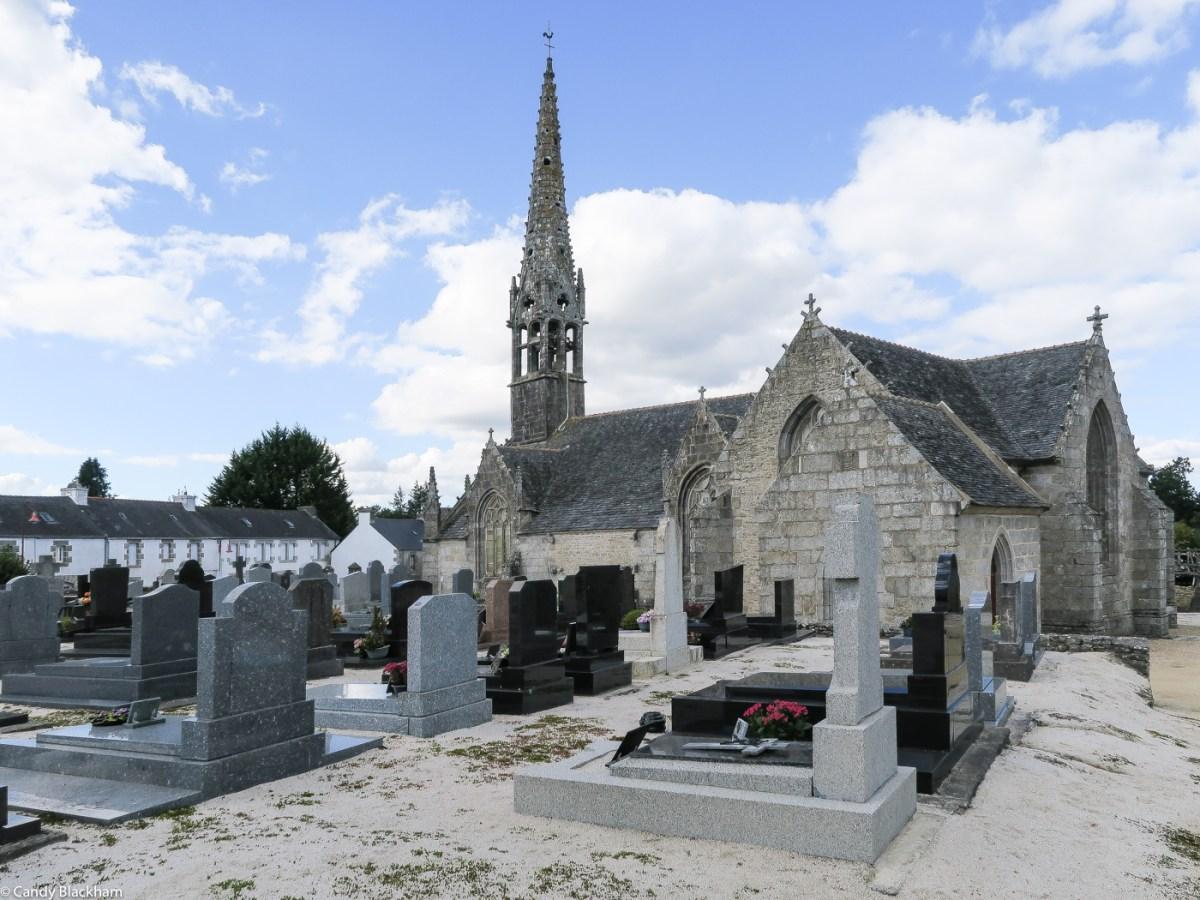 The Church of Notre Dame de Brennilis