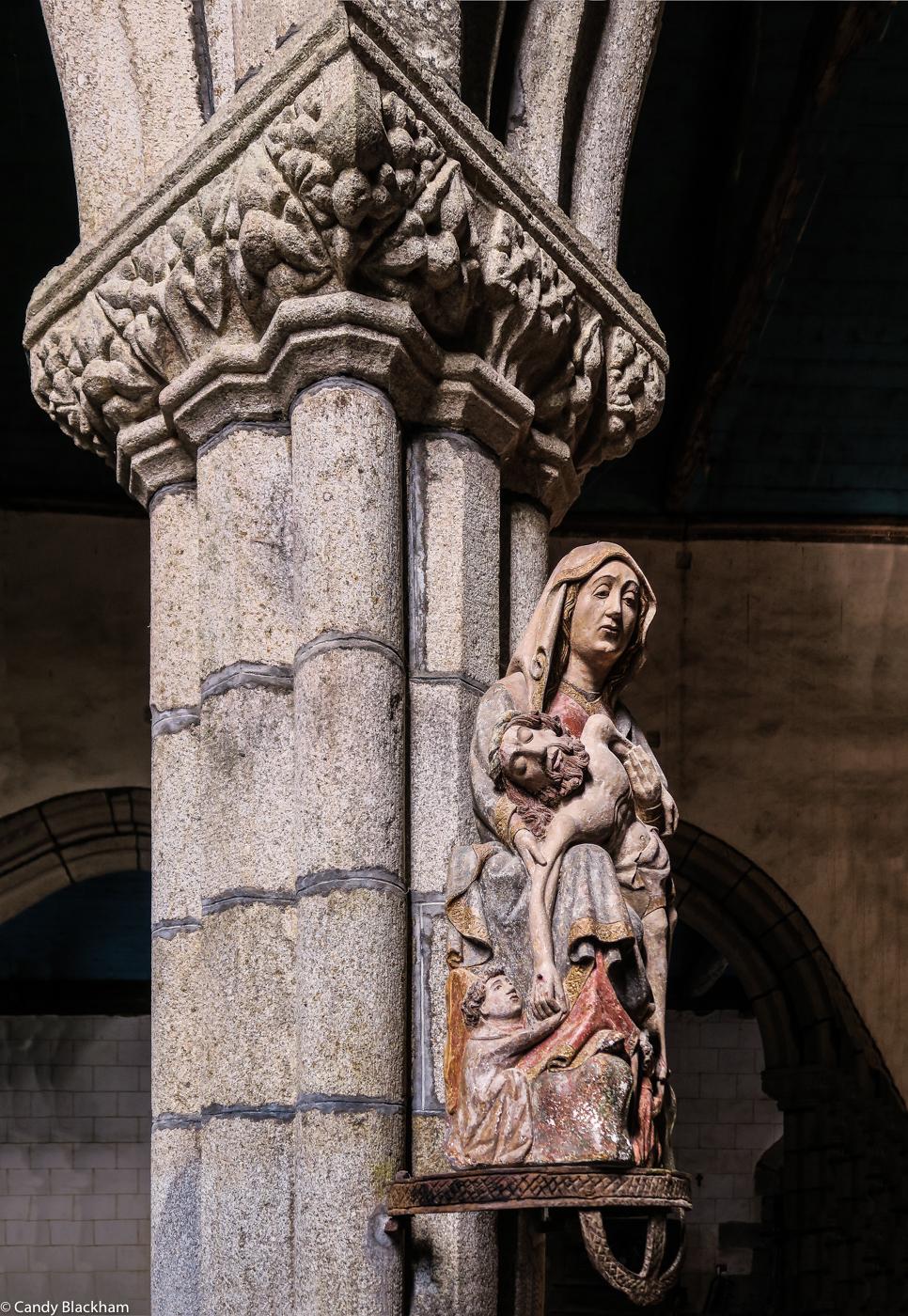 15C Pieta, the Church of St Herbot