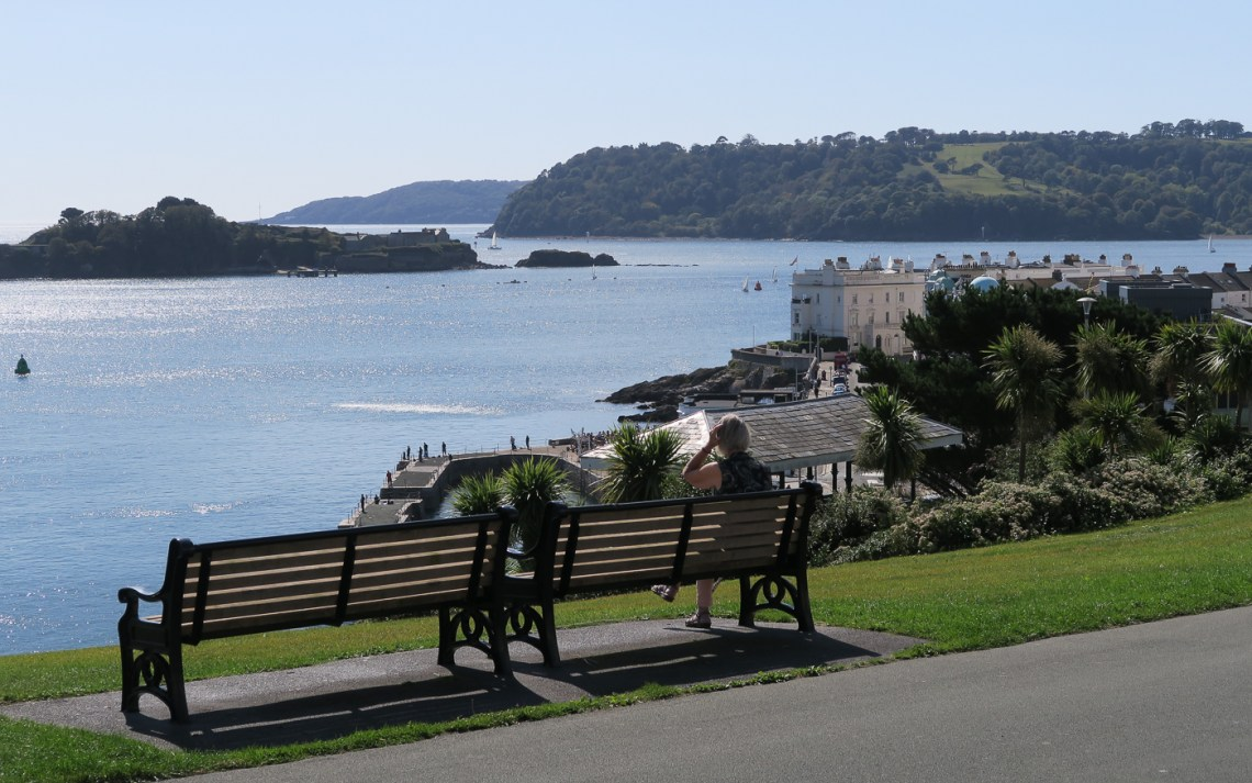 View from the Hoe over Plymouth Sound