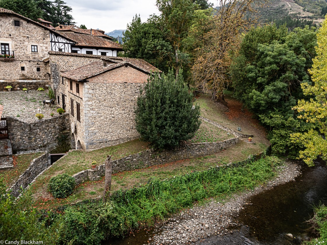 An old farm and mill at the San Cayetano Bridge