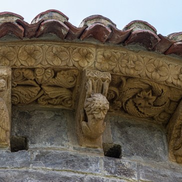 Romanesque Church near Potes in the Picos