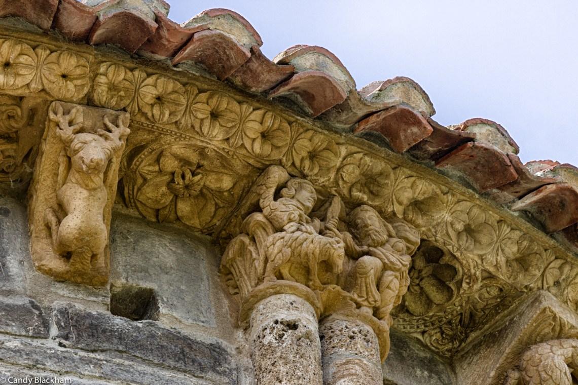 Carvings at Santa Maria de Piasca