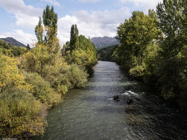 The River Esla at Villayandre
