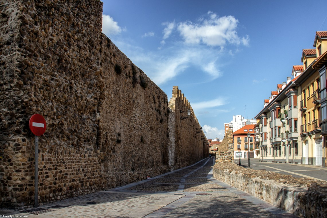 Mediaeval walls in Leon