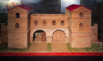 A reconstruction of the Roman East Gate