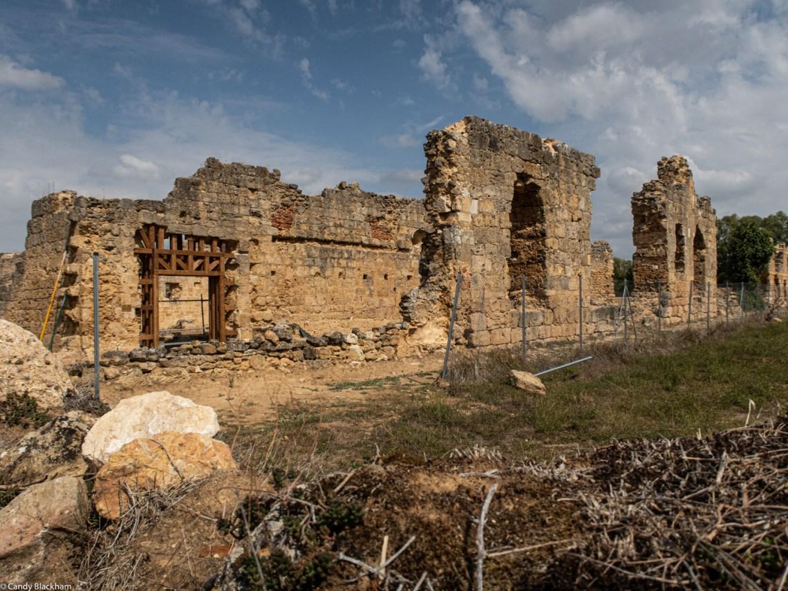 The ruined Monastery of San Pedro de Eslonza