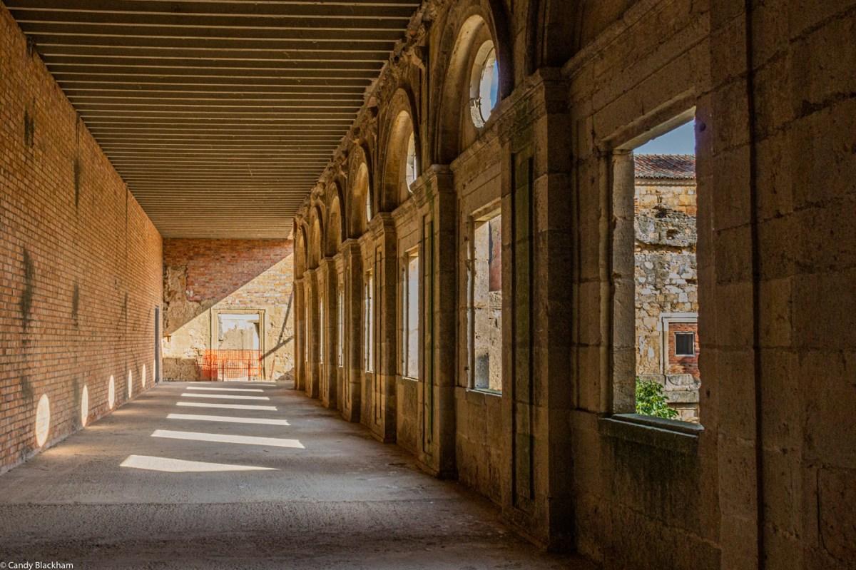 The Upper Cloister, Santa Maria de Sandoval