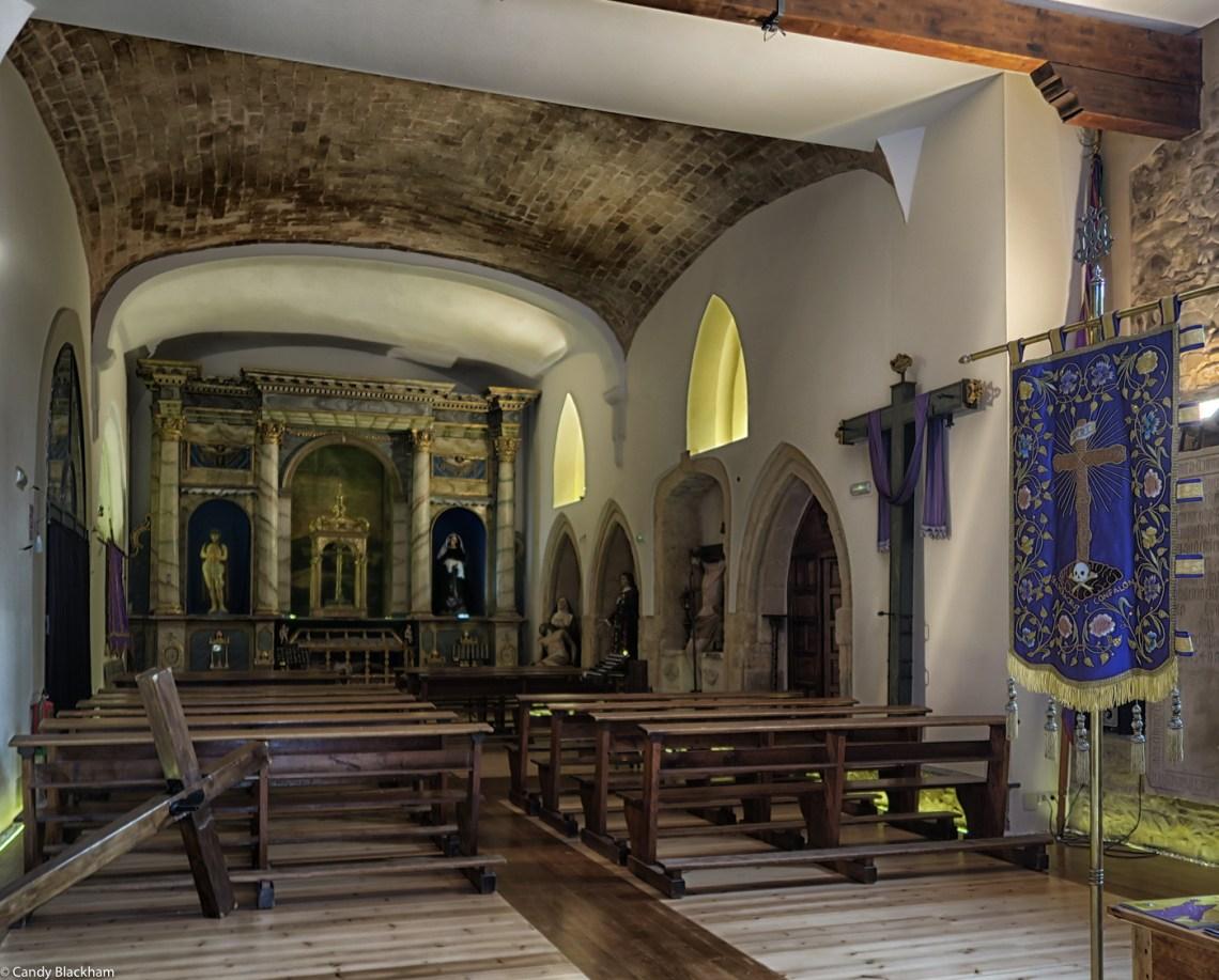 The church of San Francisco in Astorga