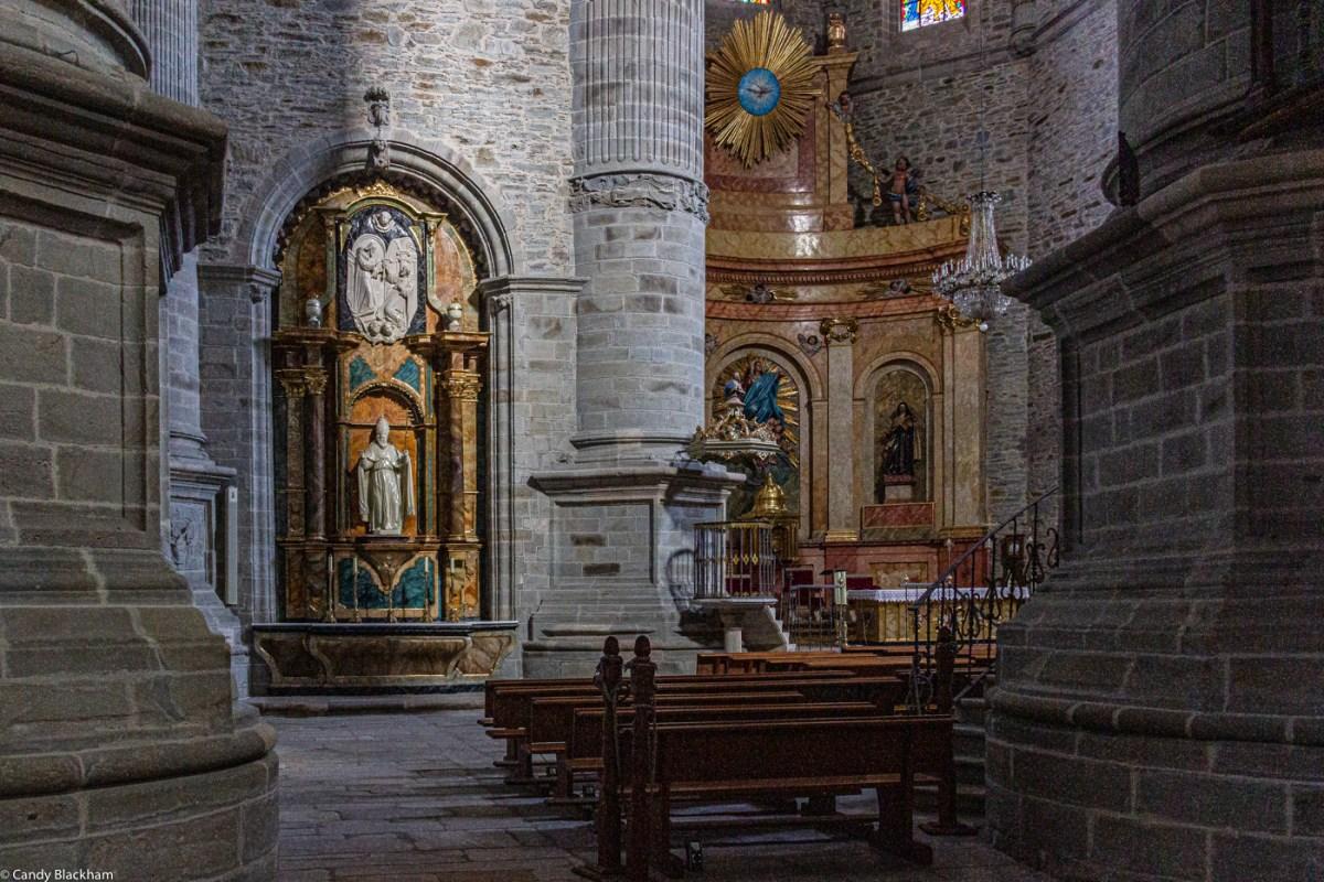 The Collegiate Church of Santa Maria on the Camino de Santiago