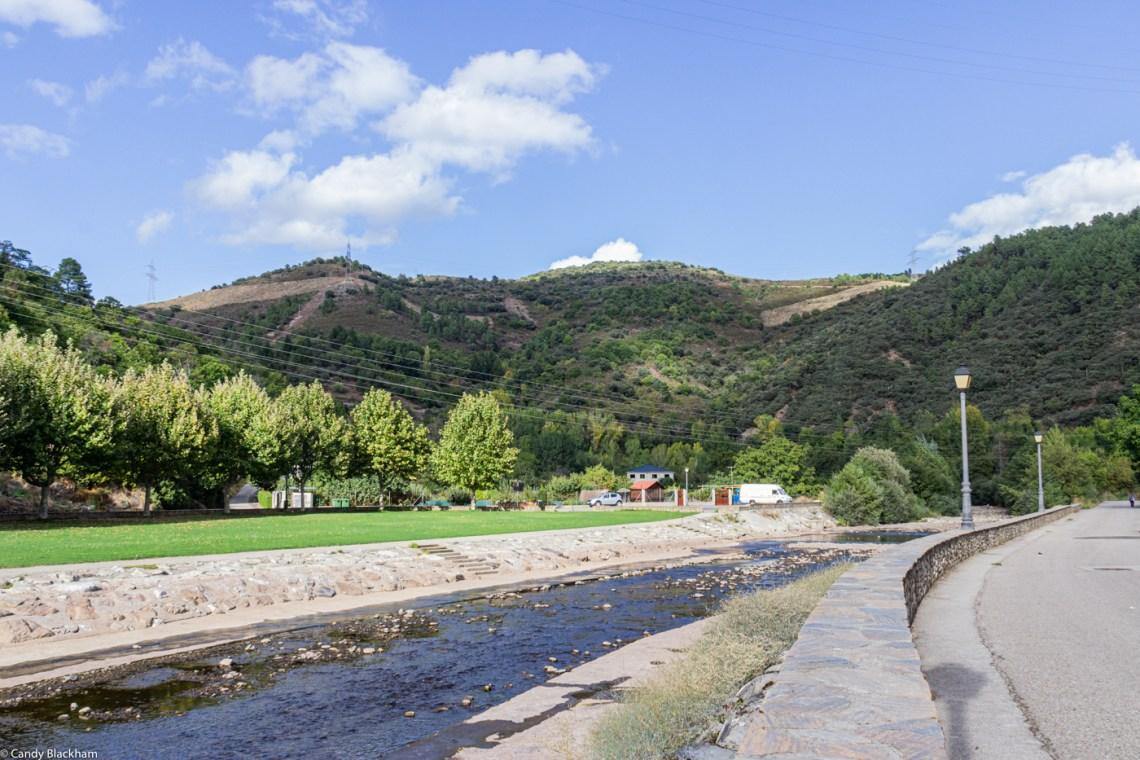 River park in Villafranca