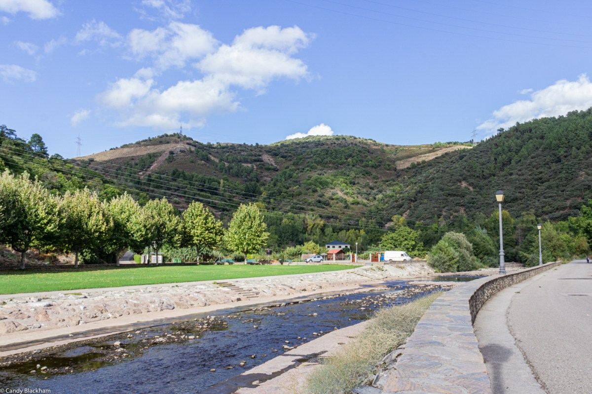 River park in Villafranca