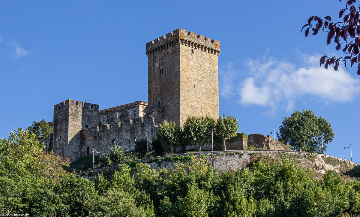 The Castle of Monforte with the Homenaje Watchtower