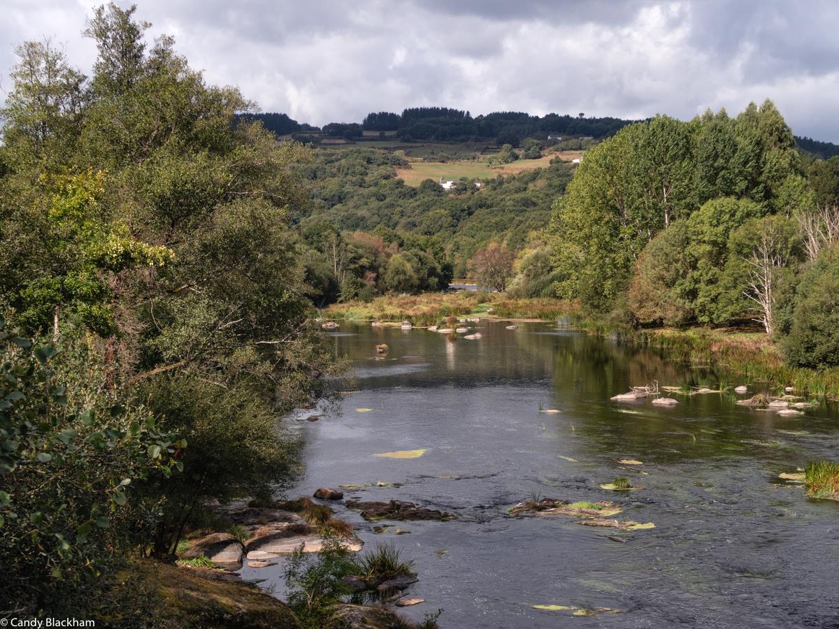Countryside between Portomarin and Lugo