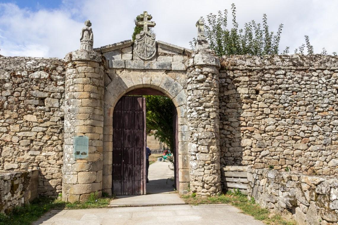Romanesque Church near Monforte de Lemos