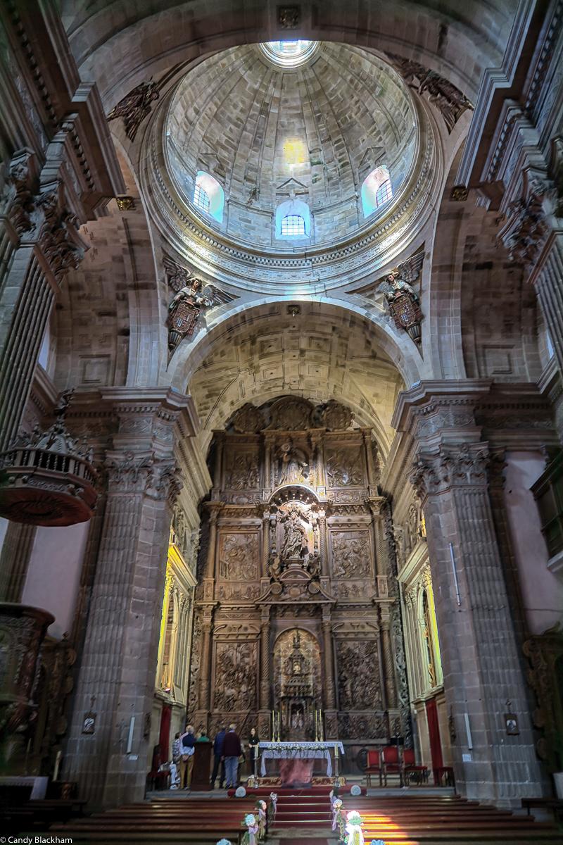 The interior of Nossa Senora de Antiga