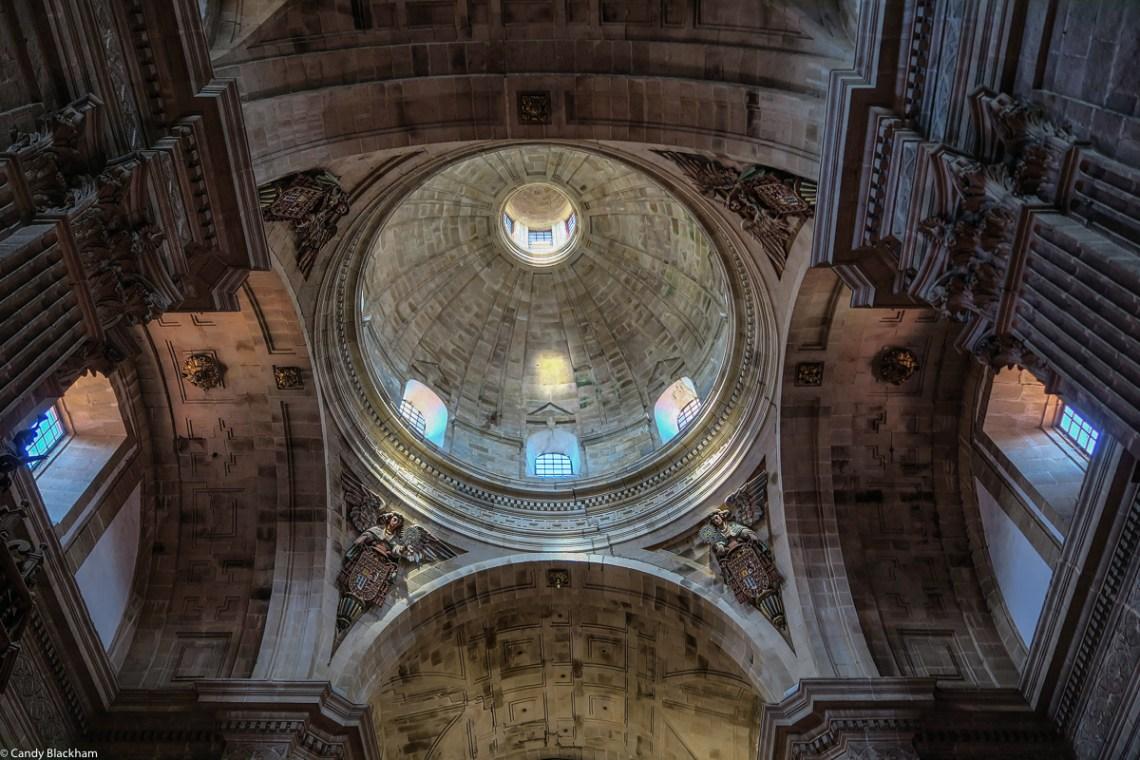 The dome of Nossa Senora de Antiga