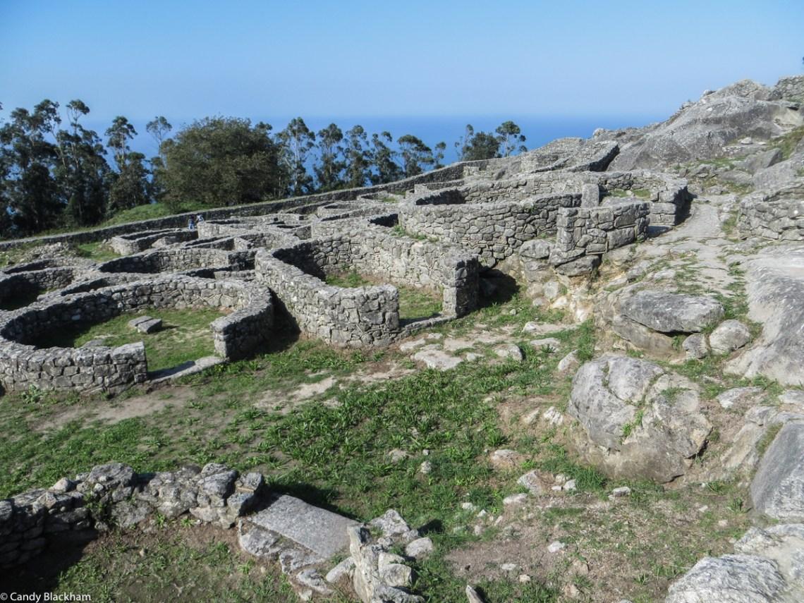 The Castro of Santa Tecla near Guarda