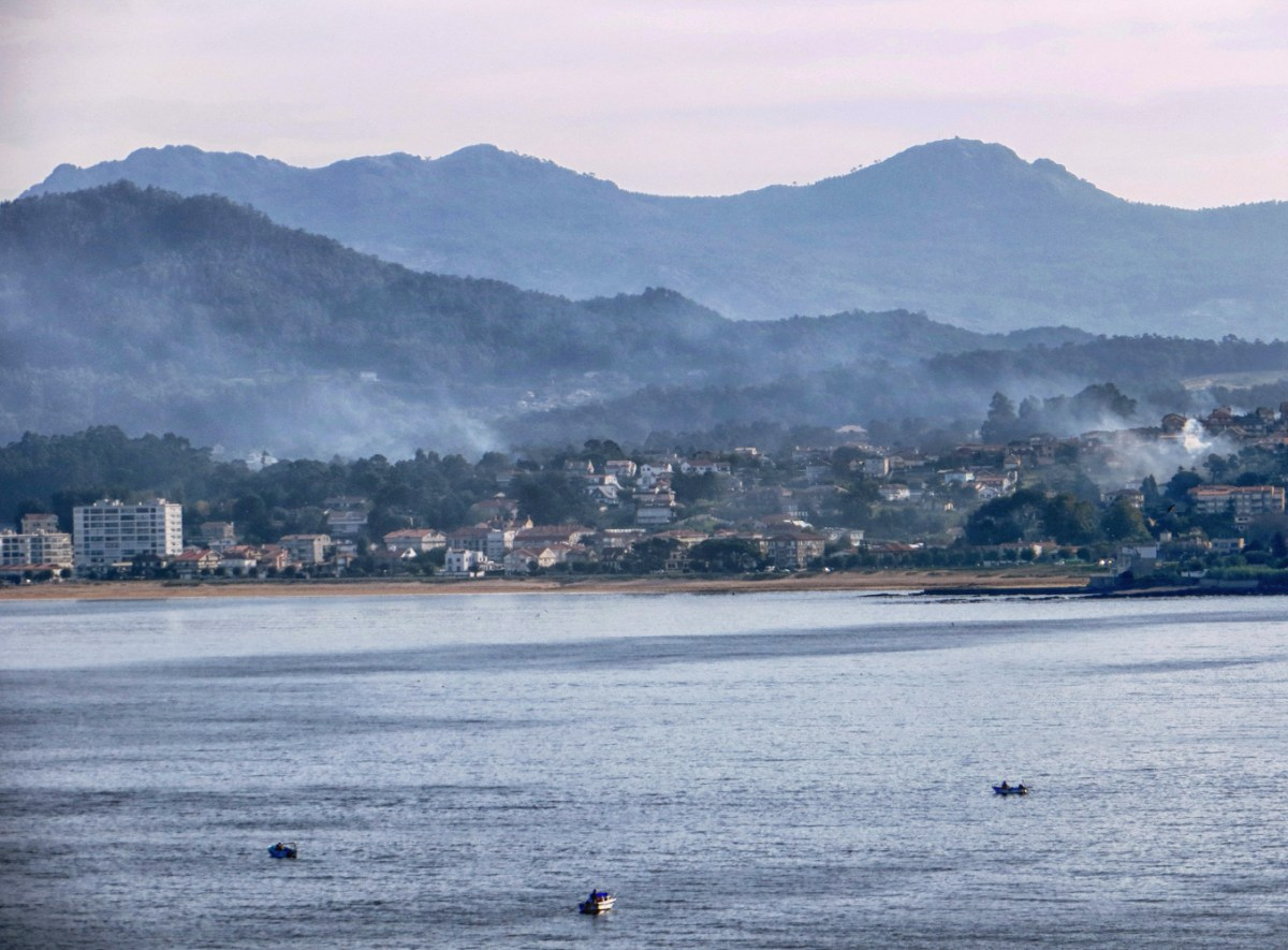 Baiona in the early morning