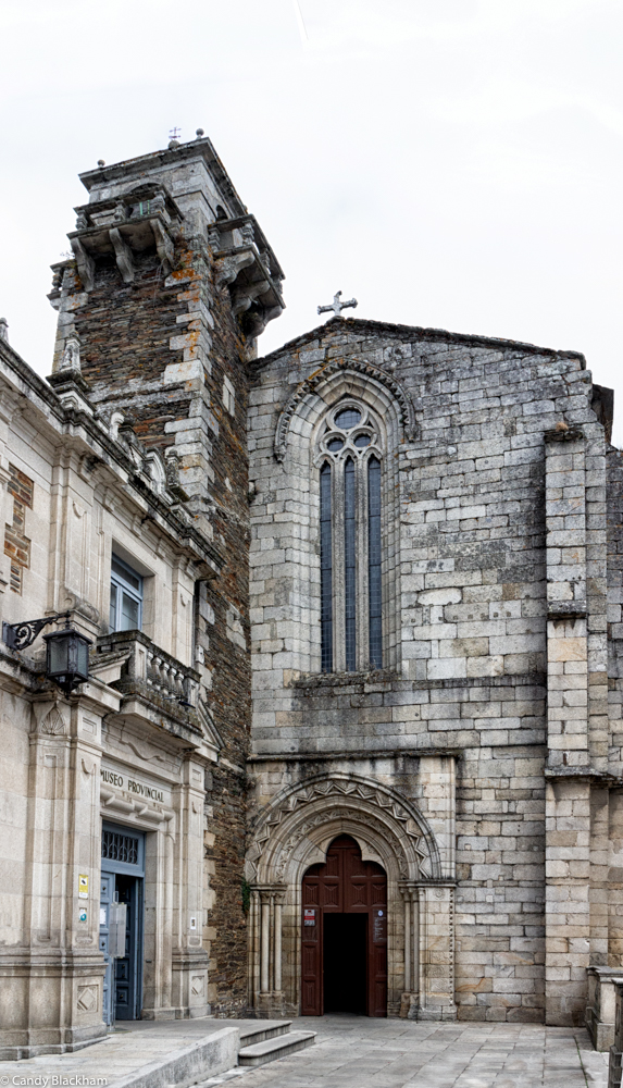 Church of San Pedro and the Provincial Museum in Lugo