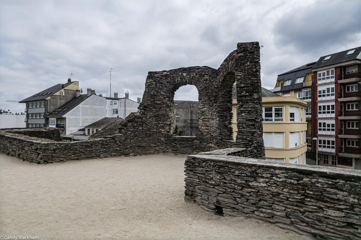Roman walls in Lugo