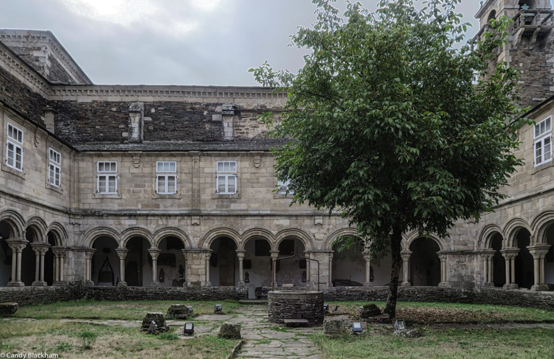 Cloister in the Provincial Museum of Lugo