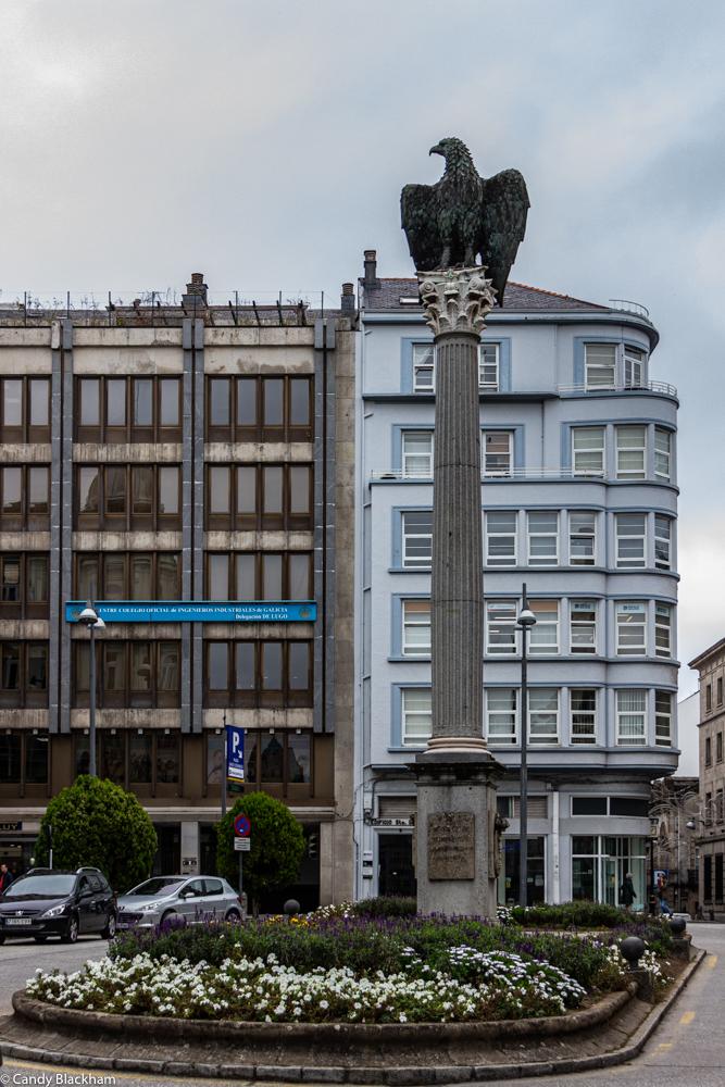 Roman Eagle in Lugo
