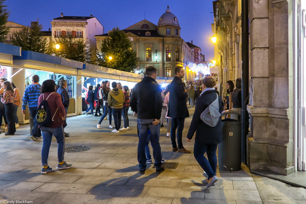 Festival of St Froilan in the Praza Maior of Lugo