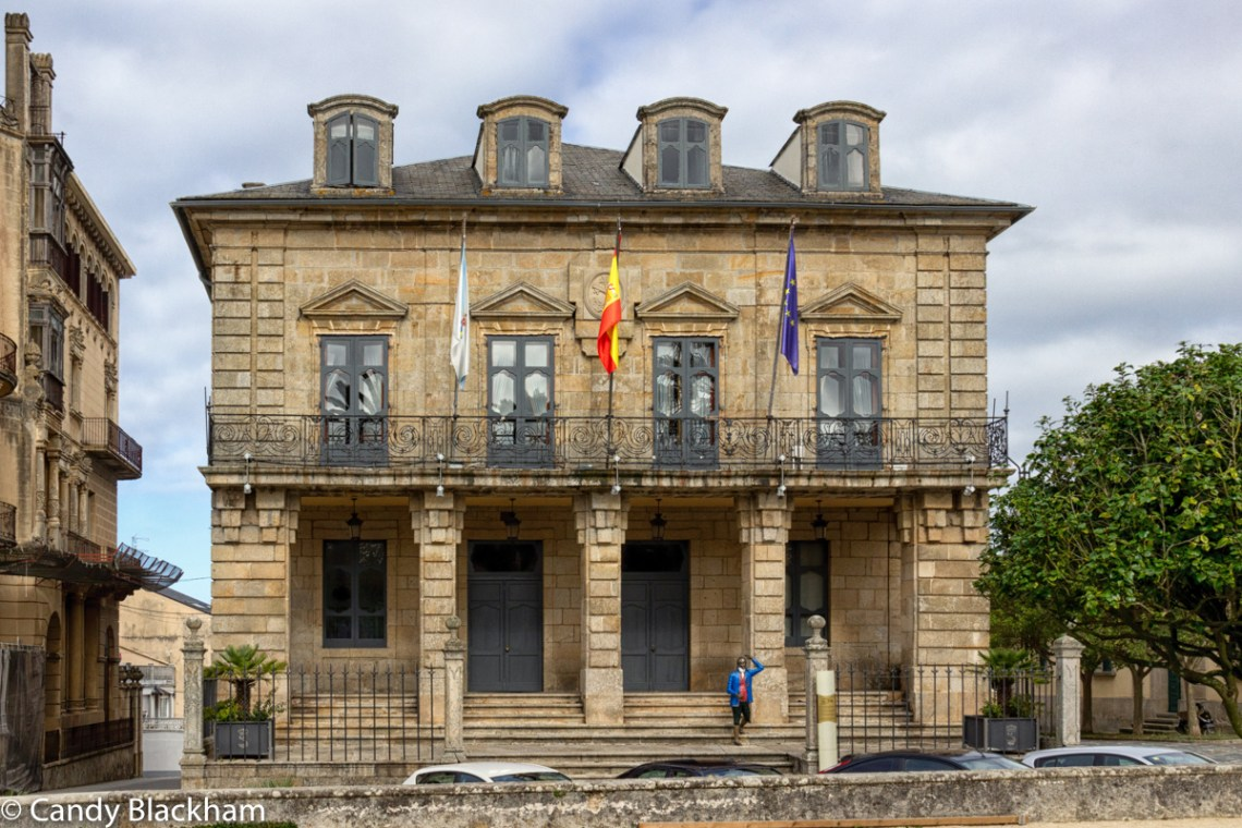 City Council headquarters in Ribadeo