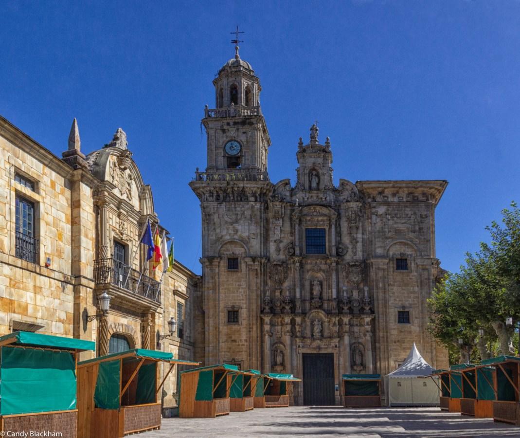 Monastery of San Salvador in Lourenza