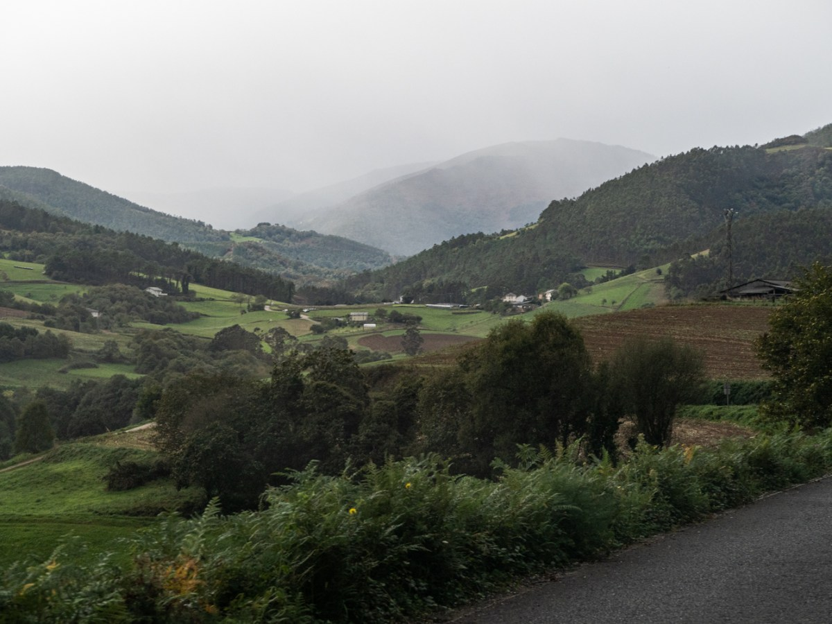 The countryside of Castro de Coana