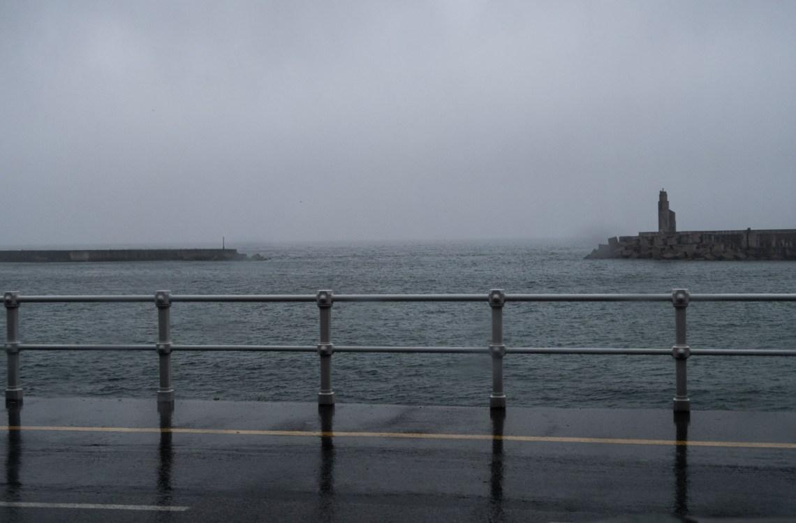 The bay at Luarca