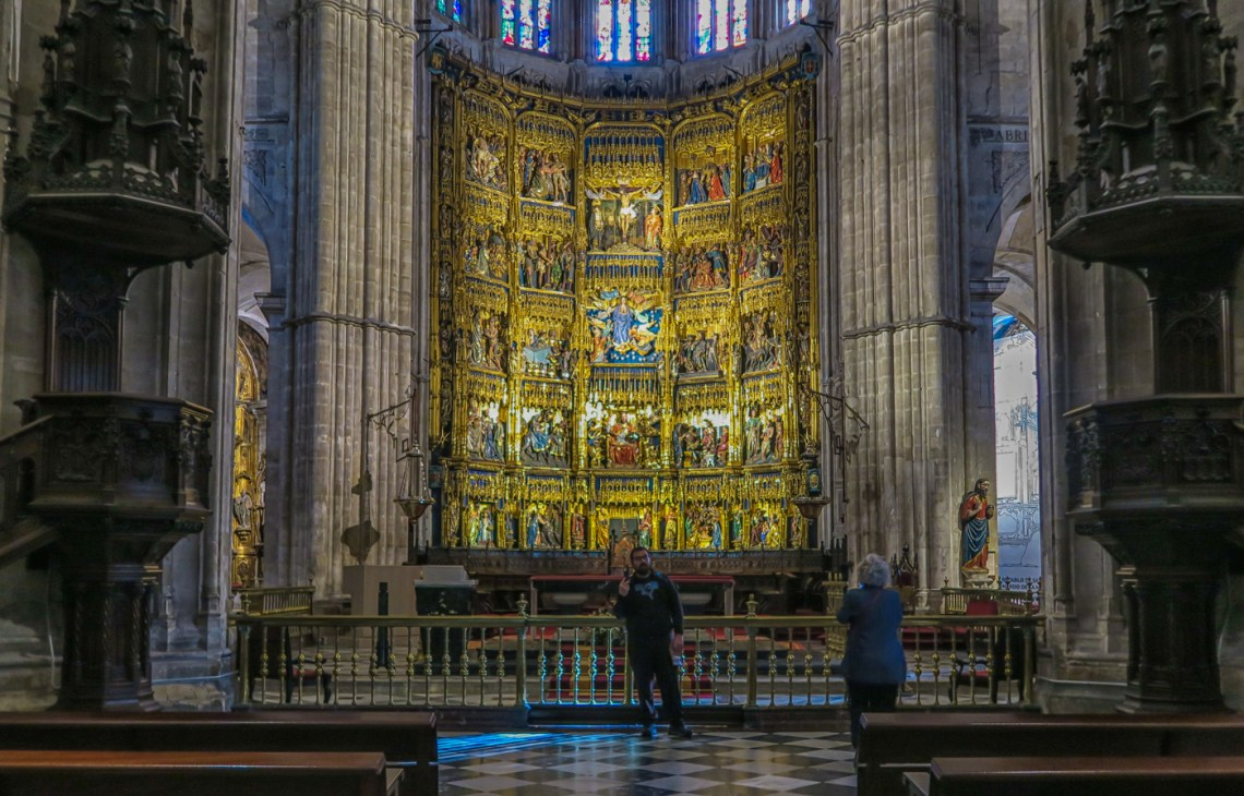 High altar in the Cathedral of Oviedo