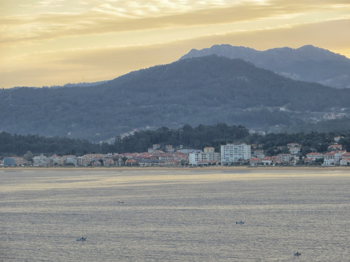 View across the bay from the Parador