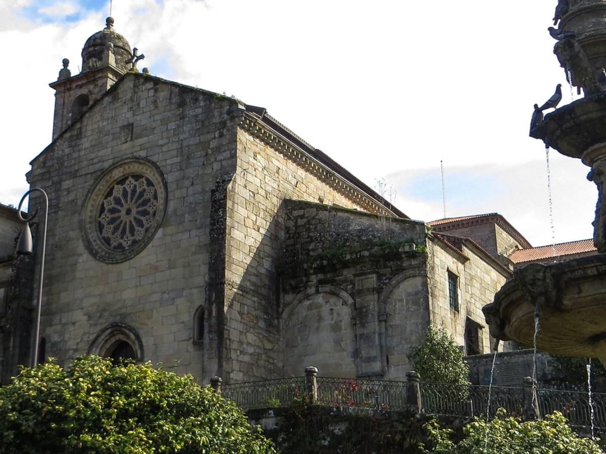 Church of San Francisco in Pontevedra