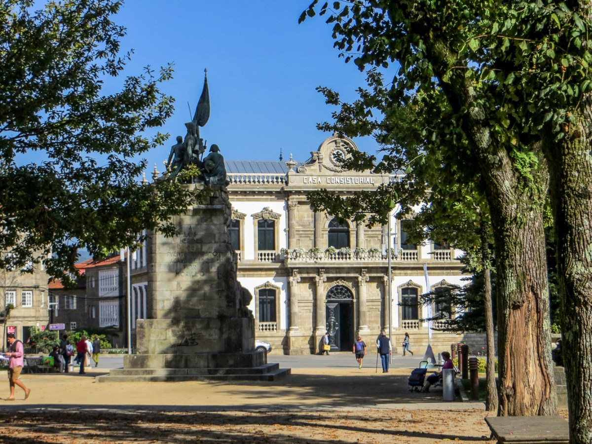 Town Hall in Pontevedra